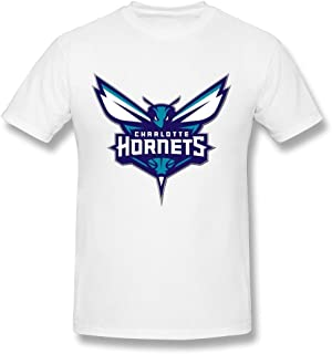 Kazzar Men's New Charlotte Hornets Logo T Shirt XL