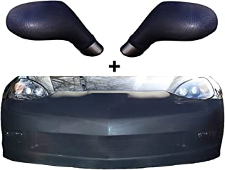 C6 Corvette Grand Sport ZO6 ZR1 GS NoviStretch Front + Mirror Bra High Tech Stretch Mask Combo Fits: C6 Corvette 06 through 13 GS Z06 ZR1 (does not fit the base Corvette)