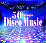 3CD 50 Songs Disco Music, Gloria Gaynor, Donna Summer, Dance Music, Disco Music