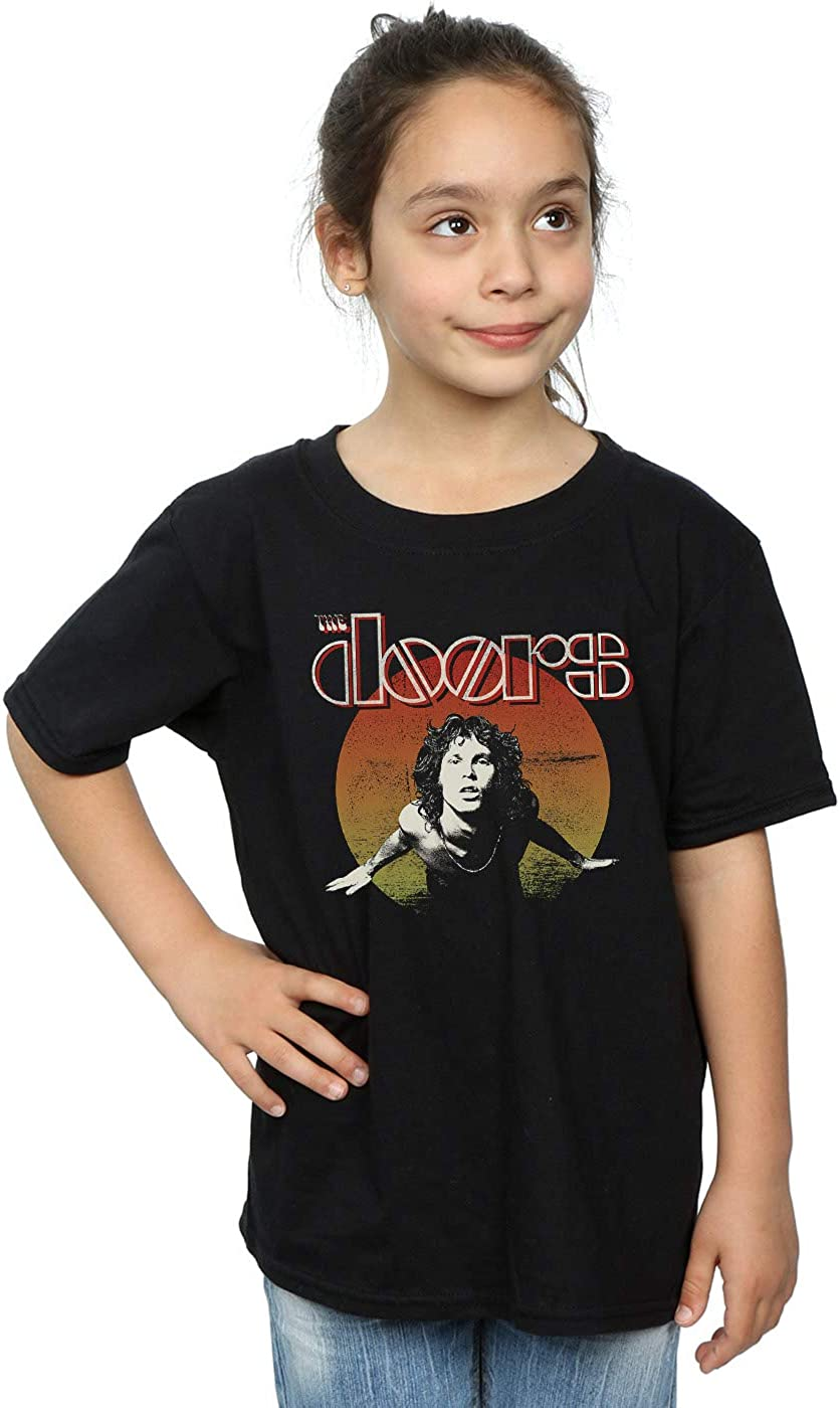 ABSOLUTECULT The Doors Girls Morrison Circle T-Shirt