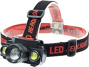 XINGTAO Hoofd Zaklamp Zoomable COB XP-G Q5 Led Vissen Koplamp Gebruik Oplaadbare 18650 Batterij Koplamp Hoofd Zaklamp Lamp...