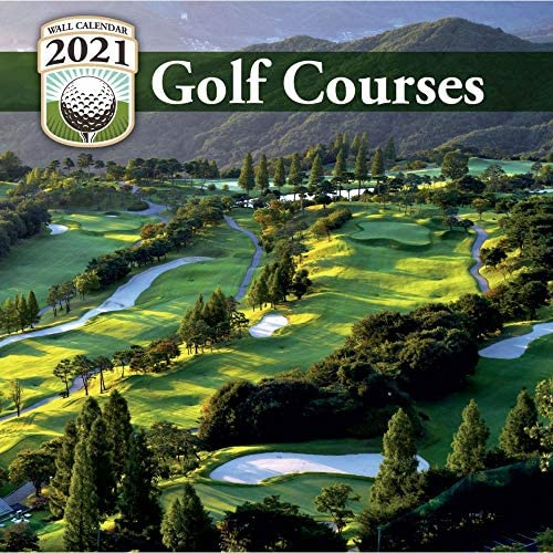 Turner Licensing 2021 Golf Courses Mini Wall Calendar product image
