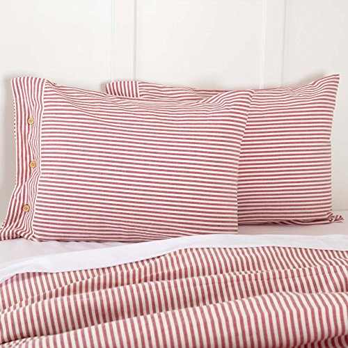 red and white sheets - 5