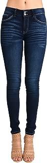 Women's Mid Rise Ankle Skinny Jeans - Basic - KC7097