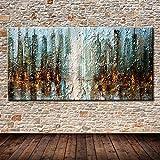YWOHP Cartel Decorativo Arte de la Pared Lienzo Pintura al óleo Pintura Abstracta Moderna Sala de Estar decoración del hogar Pintura de Pared