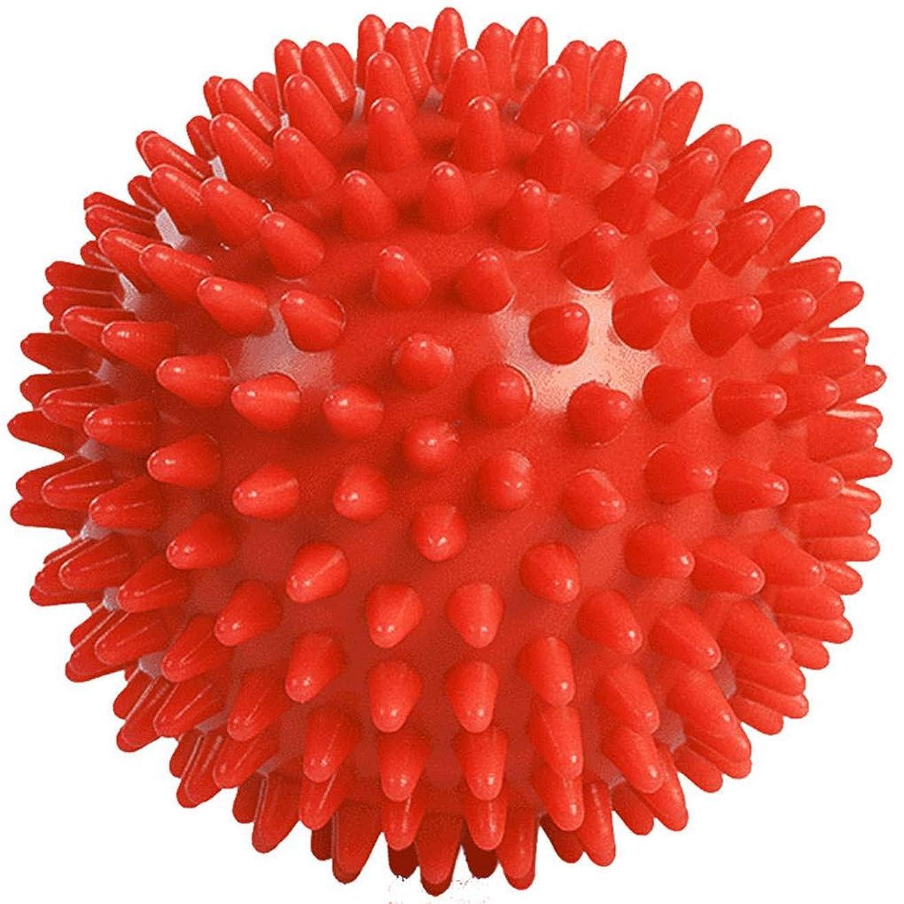 グローバル廃止する写真を撮るuzinby リフレックスボール 触覚ボール 足裏手 背中のマッサージボール リハビリ マッサージ用 血液循環促進 筋肉緊張 圧迫で解きほぐす