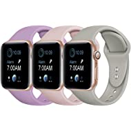 Rabini Compatible with Apple Watch Band 40mm 38mm 44mm 42mm for Women Men, Replacement Accessory...