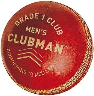GM 男式 CLUBMAN 1年级俱乐部板球红色均码