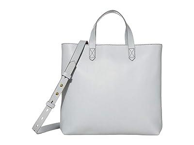 Madewell MW The Zip Top Transport Crossbody (Craft Blue) Handbags