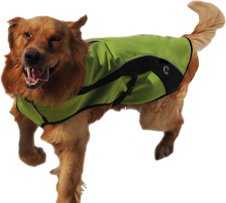 Croci Waterproof Hiking Snowcoat, 75 cm78 cm, Green