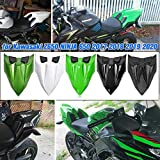 aholaa motocicletta ninja650 copertura sedile posteriore pilota passeggero,carenatura del sedile della motocicletta copri code per kawasaki z650 z 650 ninja 650 2017 2018 2019 2020 (bianca)