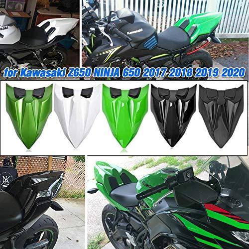 AHOLAA Motorrad Ninja650 Hintersitzabdeckung Haube Beifahrersitz,Verkleidung der Motorradsitzverkleidung Heckverkleidung für Kawasaki Z650 Z 650 Ninja 650 2017 2018 2019 2020 (Weiß)