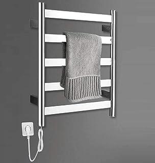 Heizks 60x50cm51w calefacción eléctrica toallero de Acero Inoxidable, Dormitorio Cocina tendedero radiador baño