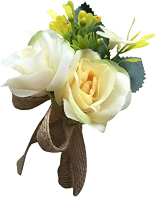 Amazon.com: Brave Tour 2 piezas de boda muñeca flor Décor ...