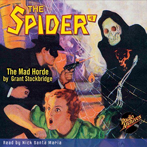Spider #8, May 1934: The Spider audiobook cover art