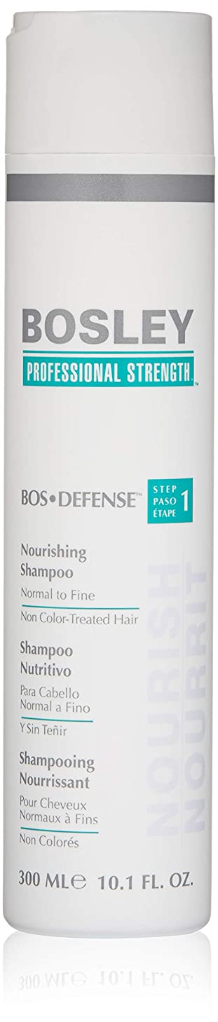 Bosley Professional Strength BOSDefense Nourishing Shampoo for Normal to Fine Hair
