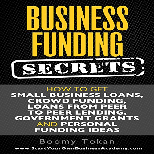 Business Funding Secrets audiobook cover art
