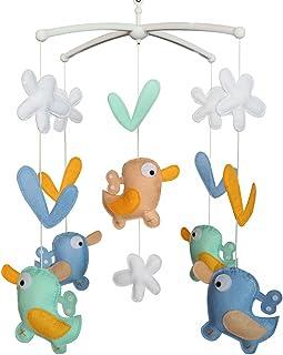 Cloche de lit Cadeaux faits à la main Mobile bébé berceau jouet coloré Jouet à suspendre K01