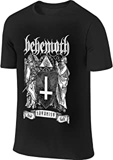 Behemoth 'The Satanist' Funny Outdoor Black T Shirt