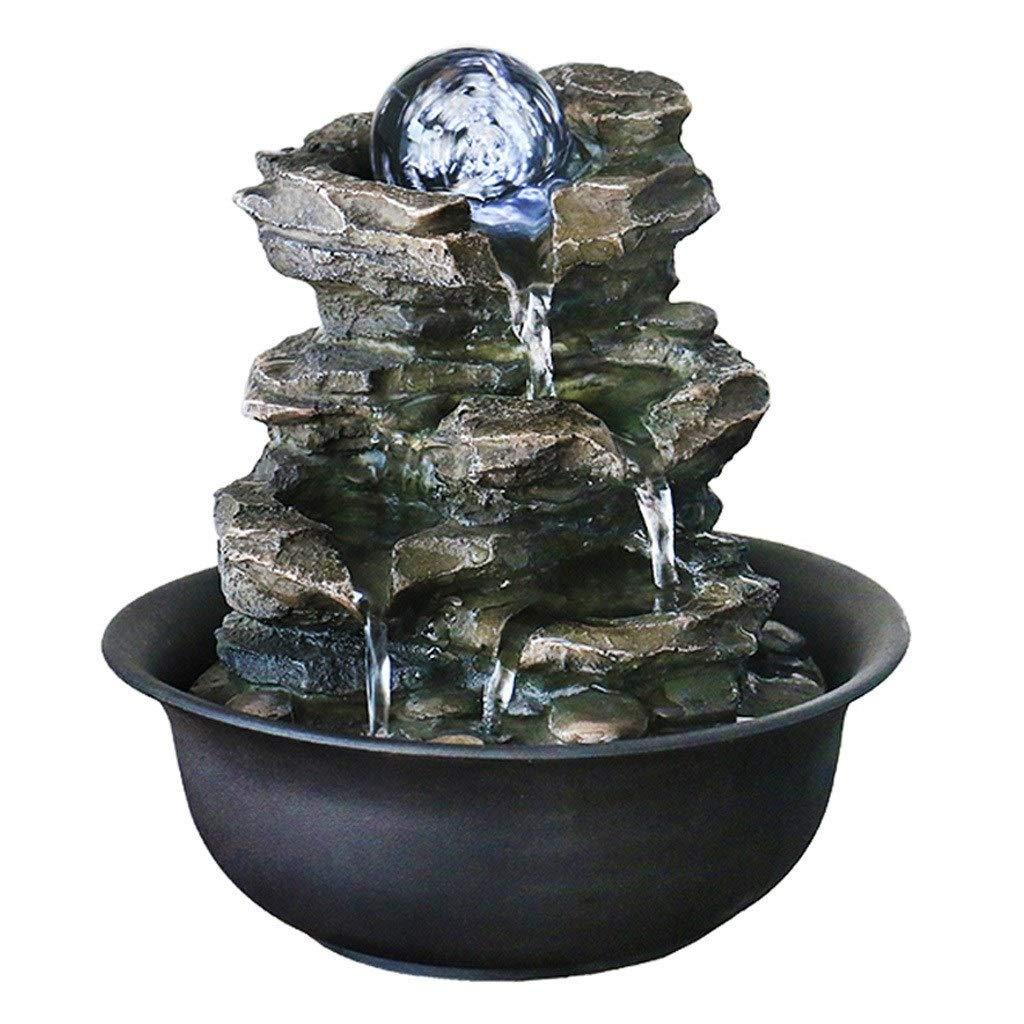 Amazon.de: Hongbanlemp Zimmerbrunnen Einfache Wohnzimmer Brunnen