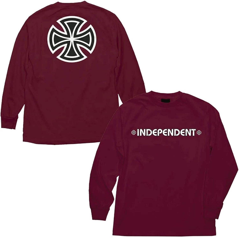 Independent Bar Cross II black Longsleeve