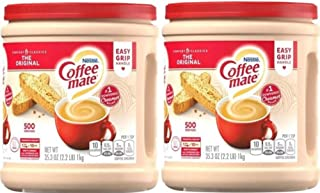 Coffee Mate 30302 The Original Powder 35.3 oz. Coffee Creamer (Pack of 2); Stir in the Rich, Indulgent Taste Anytime for a...