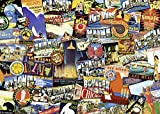 Ravensburger Road Trip USA 1000 Piece Jigsaw Puzzle for Adults – Every Piece is Unique, Softclick...