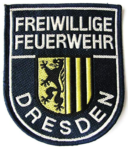 Freiwillige Feuerwehr - Dresden - Ärmelabzeichen - Abzeichen - Aufnäher - Patch - Motiv 1