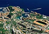 Poster AS Monaco Stade Stadium Fußball Wand Kunst Team