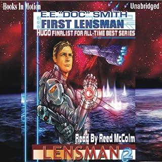 First Lensman audiobook cover art