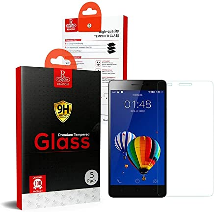 Lenovo A7000 Remson Tempered Glass Screen Protector 5 PACK - Clear