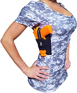 Women's Concealed CAMO EDITION T-Shirt Holster GREEN/GRAY Ref.211 CAMO CCW Tactical Clothing