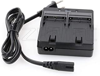 SZRMCC Topcon GTS-1002 GTS-1005 OS-602G ES-602G total station dubbel batteriladdare BC-L2A för Topcon BT-L2-batteri