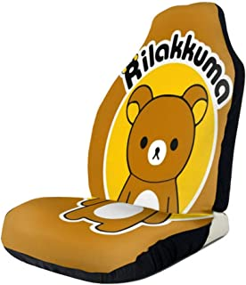 RachelReichert Rilakkuma Funny Car Seat Cover, Car Interior Car Seat Cover for Most Cars, Cars, SUVs, Vans1 PCS
