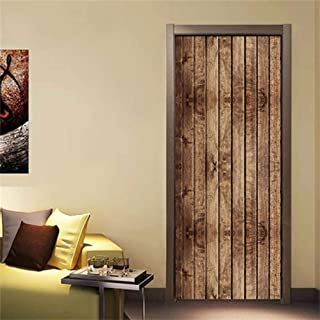 Bathroom Privacy Window Film Glass sticker,2019 New Stickers On The Doors Bookshelf Library Gate Decoration Wall Posters Vinyl Waterproof DIY Self-adhesive Removable Decal ( 30.3 x 78.7 Inch )