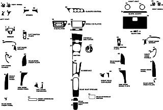 Rvinyl Rdash Dash Kit Decal Trim for Acura RSX 2002-2006 - Carbon Fiber 3D (Black)