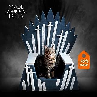 Iron Throne for cat, Cat furniture Iron Throne,