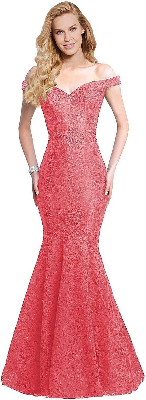 Rieshaneea Wedding Womens Long Off Shoulder Mermaid Prom Evening Dresses Ball Gowns