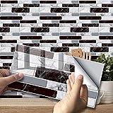 LHSX Adhesivo de Transferencia de Azulejos de Pared para decoración del hogar, calcomanías de Azulejos para Sala de Estar, Cocina, baño, 9 Piezas
