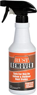 Rust Remover Pint (16 ounces) - Safely and Easily Takes Out Rust and Iron Stains from Sinks, Dish Washers, Tile, Tubs, Siding, Concrete and Fences