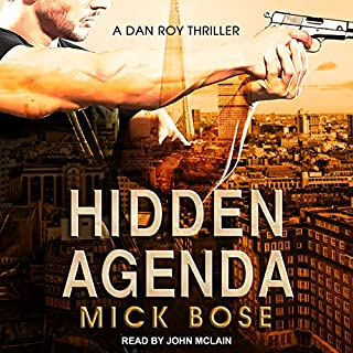 Hidden Agenda: A Dan Roy Thriller cover art