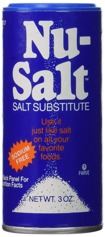 Ranking TOP4 sale NU-SALT Substitute Sodium-free Pack Oz 3