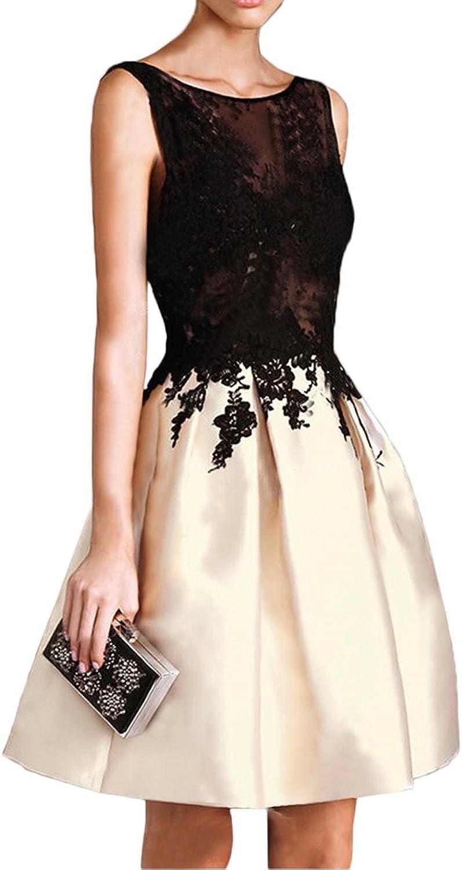Avril Dress Aline Sleeveless Applique Backless Cocktail Homecoming Dress Mini