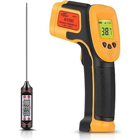Etekcity Digital Laser Infrarot Thermometer 50 Bis 550 C Ir Pyrometer Berührungslos Temperaturmessgerät Temperaturmesser Lcd Beleuchtung Nicht Für Menschen Baumarkt