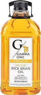 Gamma One 100% Pure Rice Bran Oil, 67.6 Ounce