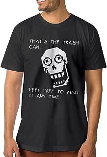 Men's Undertale Papyrus Short Sleeve T-Shirt Black