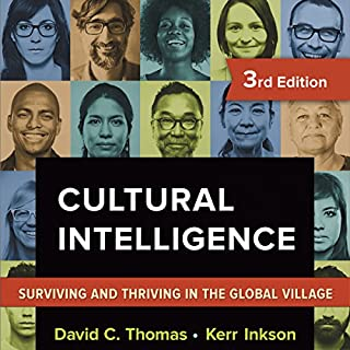 Cultural Intelligence audiobook cover art