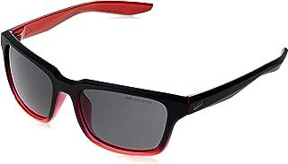 Nike Unisex Square Black Plastic Sunglasses - NKESSENTIALSPREE 060 57-18-145mm