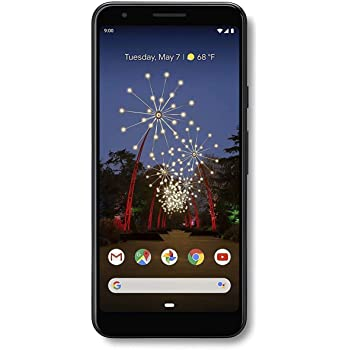 Google Pixel 3A 64GB Sprint - Just Black (Renewed)