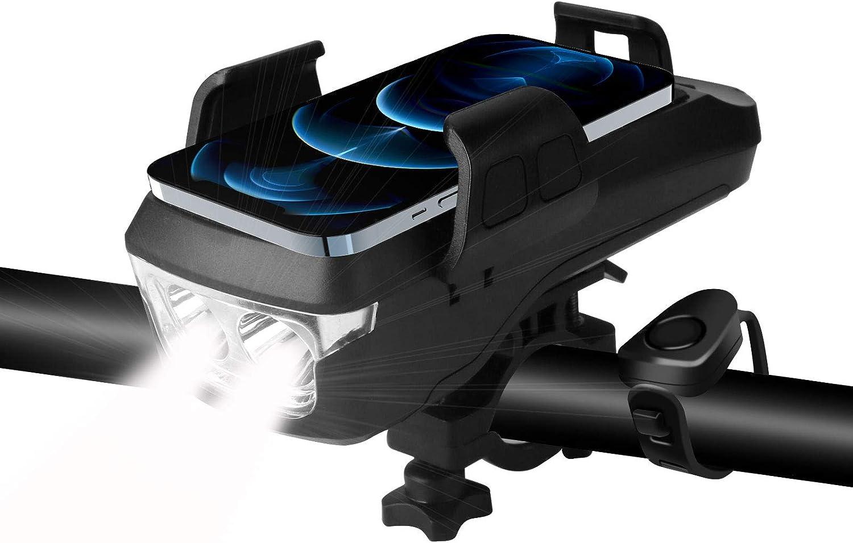 Tsuinz Bike Light Waterproof Lights half Super beauty product restock quality top and 4000mA Back B Front